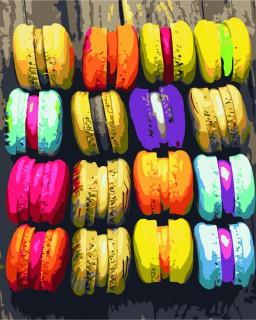 Farverige Macaroons