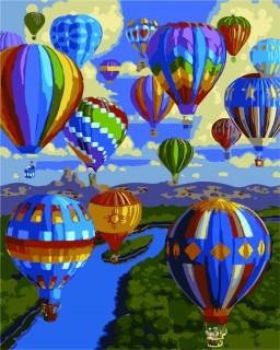Sommer i en luftballon