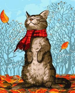 Efterårs Kat