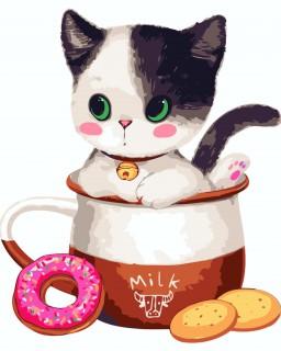 Morgenmælk med killing
