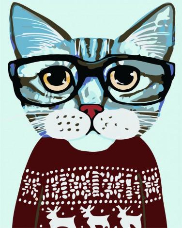 Katten med Sweater