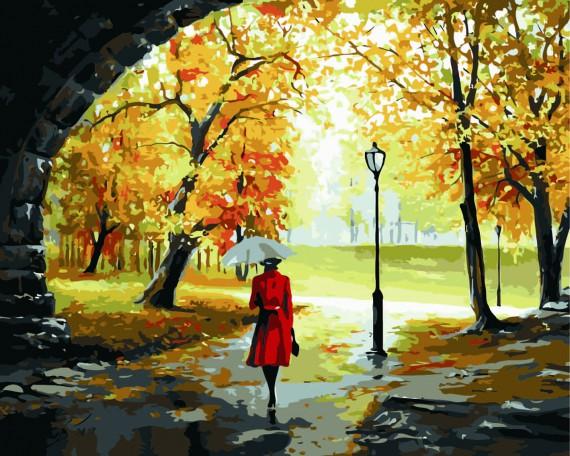 Efterår i parken