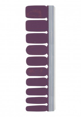 Nail Strip Dark Purple