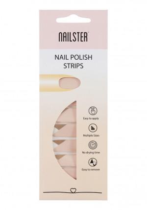 Nail Strip Pink/Brown/White
