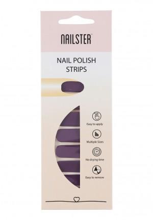 Nail Strip Dark Purple