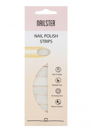 Nail Strip Nude/White