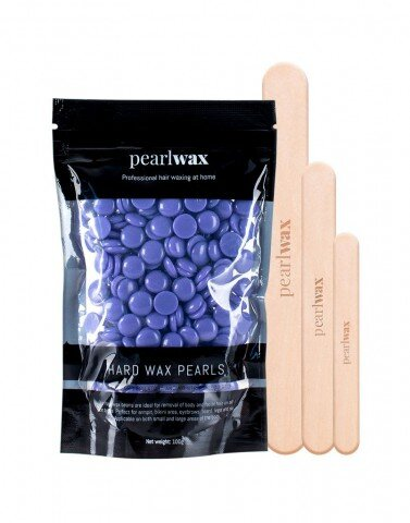 Pearlwax voksperler lavendel