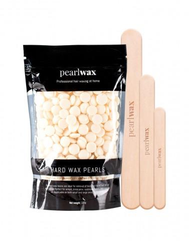 Pearlwax voksperler creme