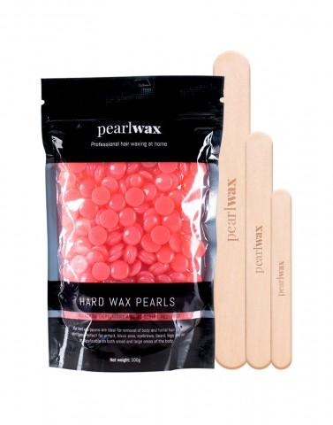 Pearlwax voksperler jordbaer